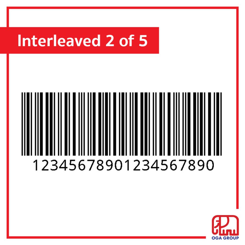 บาร์โค้ด Interleaved 2 of 5