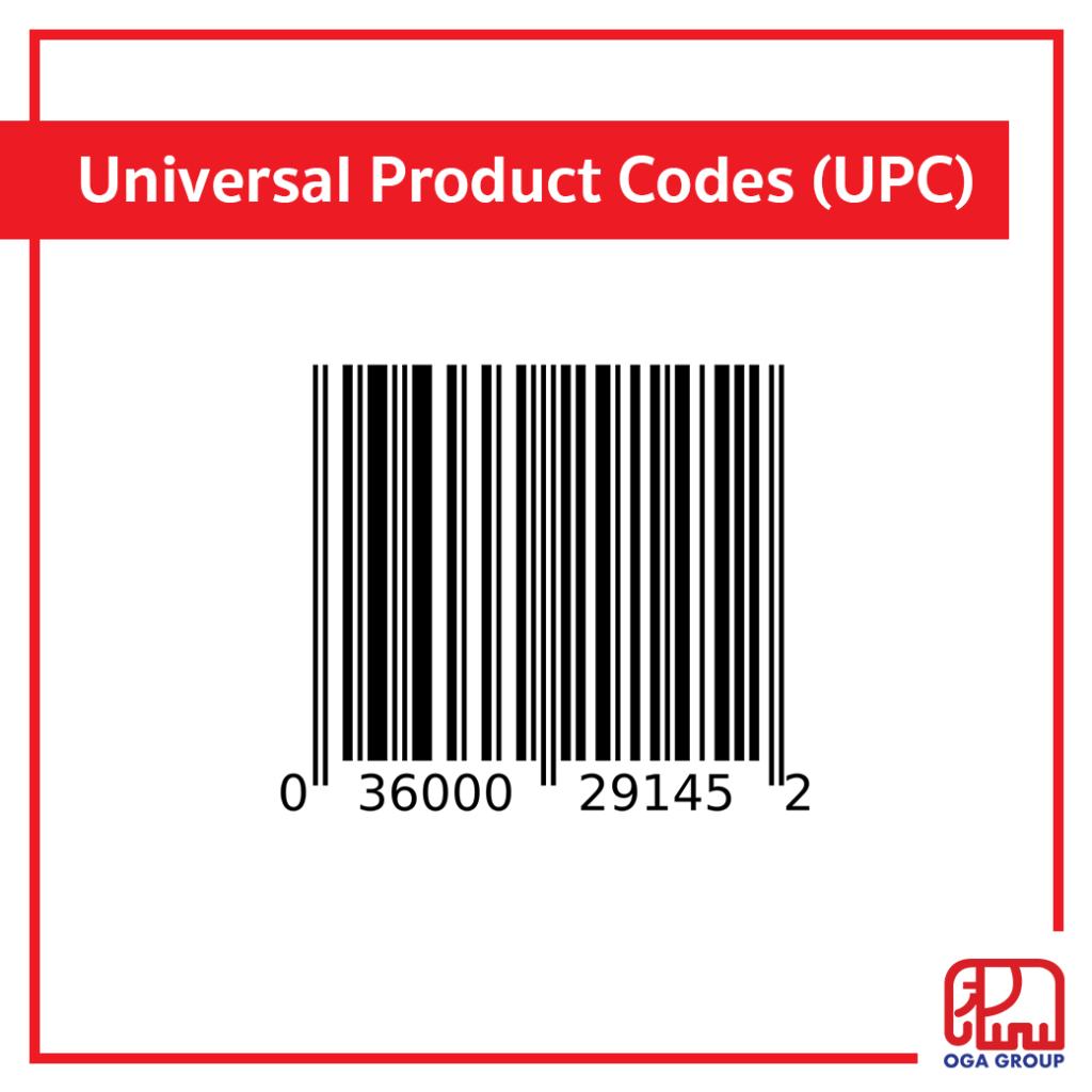 บาร์โค้ด Universal Product Codes (UPC)