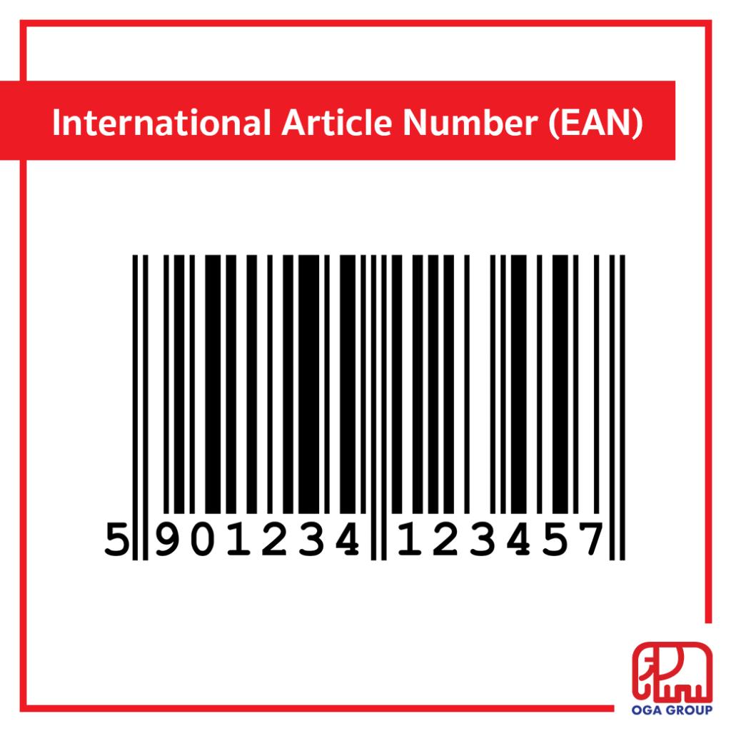 บาร์โค้ด International Article Number (EAN)