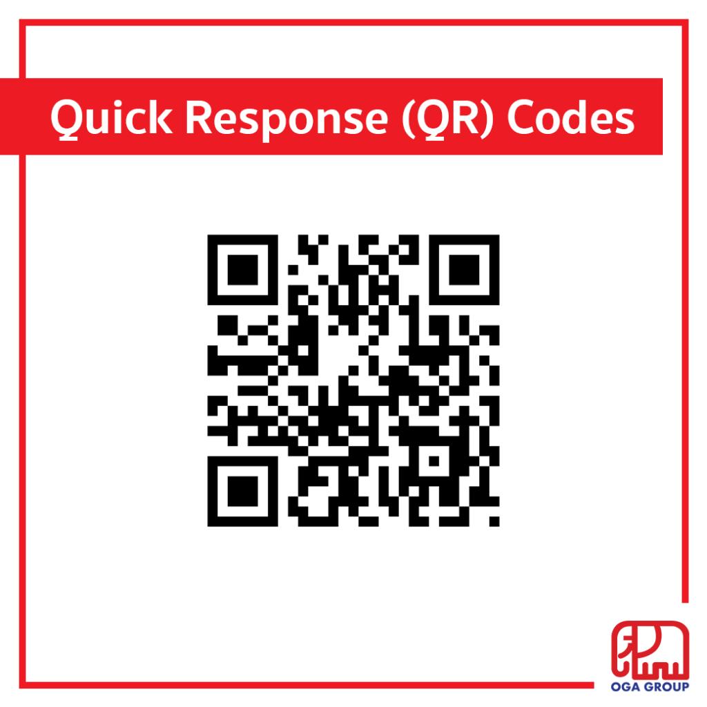 บาร์โค้ด Quick Response (QR) Codes